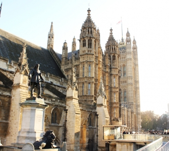 Palace of Westminister in London